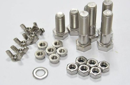 Hex head bolts are divided into several types